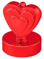 Red Heart Balloon Weight